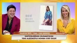 """Sibel Can, 10 şarkılık albümü """"Hayat""""ı sevenleriyle buluşturdu!"""