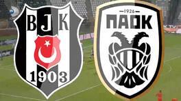 PAOK 3 - 1 Beşiktaş Maç Özeti (UEFA Şampiyonlar Ligi 2. Eleme Turu Maçı)