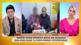 Sosyal medyada infial yaratan Musa Dinç, canlı yayına bağlandı!