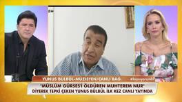 Yunus Bülbül, tepki çeken Müslüm Gürses açıklamasına canlı yayında açıklık getirdi!