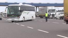 Jandarma otobüslerde HES kodu denetimi yaptı | Video