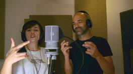 Murat Evgin ve Ayben Kanal D için mikrofon başına geçti!