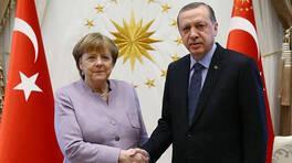 Son dakika haber... Cumhurbaşkanı Erdoğan, Merkel ile görüştü | Video