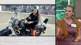 Nurcan Hanım, motoruna binen Ayşe Hanıma çok kızdı!