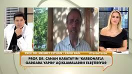 """Prof. Dr. Mehmet Ceyhan, Karatay'ın """"Karbonatla gargara yapın"""" açıklamalarını eleştirdi!"""