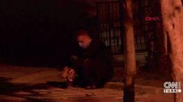 Yaralı kadının imdadına komşuları yetişti   Video
