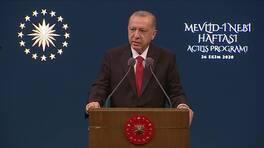 Son dakika.. Cumhurbaşkanı Erdoğan açılış programında konuşuyor