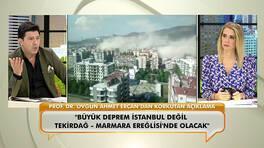 Korkutan deprem uyarısı! Prof. Dr. Ercan, Tekirdağ depremine dikkat çekti!