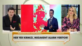 İstanbul alarm veriyor! Her yer kırmızı!