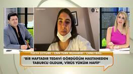 Koronavirüse yakalanan CNN Türk muhabiri Fulya Öztürk, yaşadıklarını ilk kez canlı yayında anlattı!