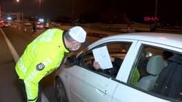 Kısıtlamanın ilk gecesinde kurala uymayanlara ceza yağdı | Video