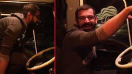 TIR sürerken horon oynadı, ehliyetine el konuldu   Video