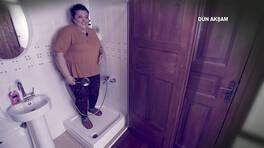 Gülşirin Hanım banyoya sığamadı!