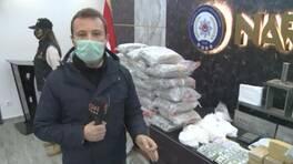 110 kg uyuşturucu ele geçirildi, 9 kişi tutuklandı | Video