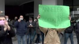 Davullu zurnalı protesto | Video