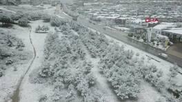 İstanbul'da kar manzaraları | Video