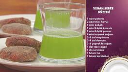 Gelinim Mutfakta - Vegan Sebze Köftesi ve Kereviz Sapı Suyu Tarifi