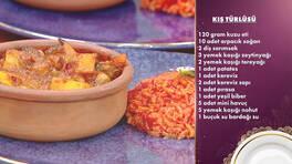 Gelinim Mutfakta - Kış Türlüsü ve Pembe Pilav Tarifi