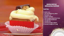 Gelinim Mutfakta - Muzlu Beyaz Çikolatalı Kapkek Tarifi