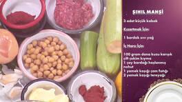 Gelinim Mutfakta - Şıhıl Mahşi Tarifi