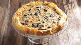 Arda'nın Mutfağı - Mantarlı Peynirli Tart Tarifi - Mantarlı Peynirli Tart Nasıl Yapılır?