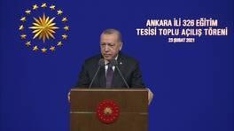 SON DAKİKA... Cumhurbaşkanı Erdoğan: 20 bin öğretmenin atamasını yapacağız