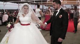 Saniye'nin düğününden özel anlar!