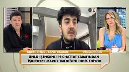 Ünlü iş insanı İpek Hattat tarafından şiddete maruz kaldığını iddia eden kuryeci Renas D. canlı yayında yaşadıklarını anlattı!