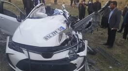 Diyarbakır'da feci kaza: 2'si çocuk 5 ölü