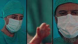 Keşif cerrahisinde minik bir el!