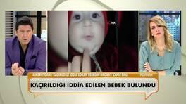 Kaçırıldığı iddia edilen bebeğin amcası canlı yayında yaşananları anlattı!