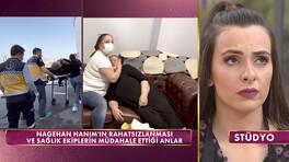 Nagehan Hanım hastanelik oldu!