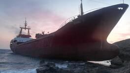 Çanakkale'de kargo gemisi karaya oturdu