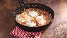 Arda'nın Ramazan Mutfağı - Kıymalı Pastırmalı Yumurta Tarifi - Kıymalı Pastırmalı Yumurta Nasıl Yapılır?
