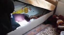 DEAŞ yöneticisi 'bazanın içinde' ağlarken yakalandı