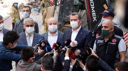 Zeytinburnu Belediye Başkanı'ndan çöken bina açıklaması