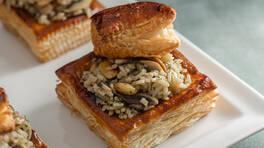 Arda'nın Ramazan Mutfağı - Milföyde Mantarlı Pilav Tarifi - Milföyde Mantarlı Pilav Nasıl Yapılır?