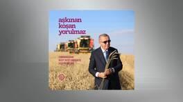Erdoğan'ın 2020 yılı mesaisi kitapta toplandı