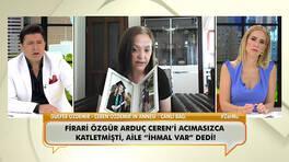 Katledilen Ceren Özdemir'in acılı annesi canlı yayında isyan etti!