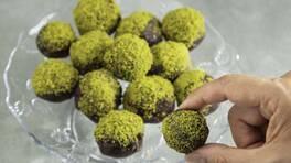 Arda'nın Mutfağı - Fıstık Ezmeli Tatlı Toplar Tarifi - Fıstık Ezmeli Tatlı Toplar Nasıl Yapılır?
