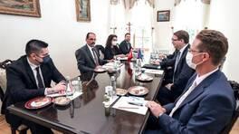 İbrahim Kalın AB Komisyonu Kabine Şefi Björn Seibert ile görüştü