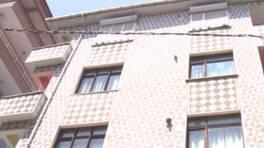 3,9'luk deprem binaya hasar verdi