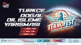 TEKNOFEST Türkçe Doğal Dil İşleme Yarışmasına Başvuruları Kaçırmayın!