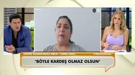 Acılı abla Emine Güder, kız kardeşi hakkındaki iddiaları canlı yayında anlattı!