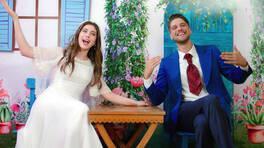 Ada ve Rüzgar, evlilik fotoğrafları çekiliyor!