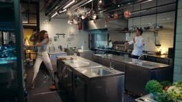 Mutfağı savaş alanına çevirdiler!