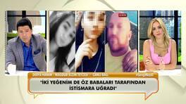 İstismar mağduru kızların teyzesi ilk kez canlı yayında yaşananları anlattı!