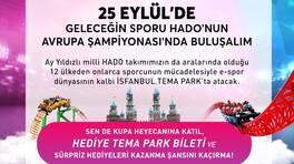 İSFANBUL Tema Park HADO Avrupa Şampiyonası, Kanal D, Radyo D ve Fanatik'in desteği ile 25 Eylül'de yapılacak!