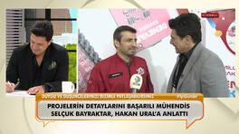 Teknofest Yönetim Kurulu Başkanı Selçuk Bayraktar, projelerin detaylarını Hakan Ural'a anlattı!