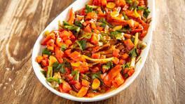 Arda'nın Mutfağı - Köz Patlıcan Salatası Tarifi - Köz Patlıcan Salatası Nasıl Yapılır?